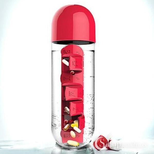 Veepudel-tablettide hoidja