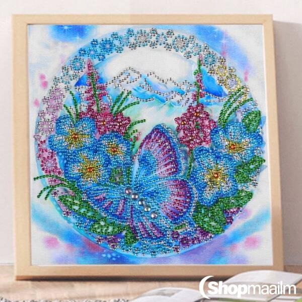 Kristalltikand/ mosaiik-pilt