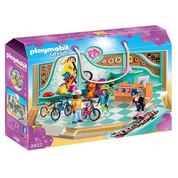 PLAYMOBIL 9402 Bike & Skate Shop
