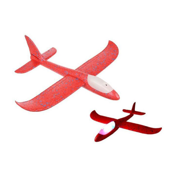 "Игрушка самолет ""Plane toy red led"""